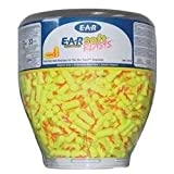 3M E-A-Rsoft Yellow Neon Blasts One Touch Dispenser Refill. (500 Pairs)