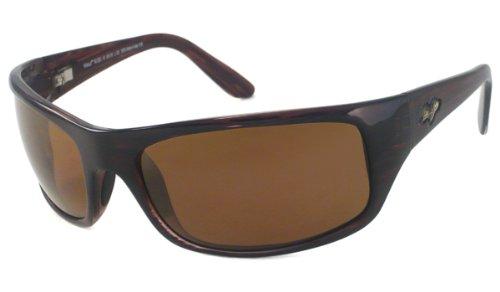 Maui Jim Peahi Sunglasses,Burgundy Tortoise Frame/HCL Bronze Lens,one - Able Maui Jim Rx