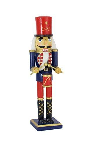 (Wood Drummer Nutcracker Figurine - 15