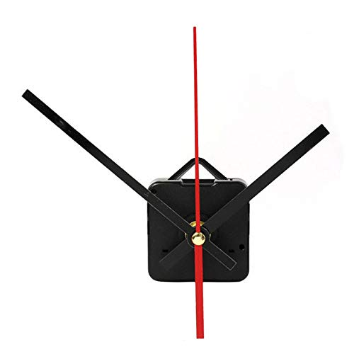 (JDgoods Long Shaft Quartz Clock Movement DIY Mechanism, DIY Repair Parts Replacement Kit Include Hands (C))