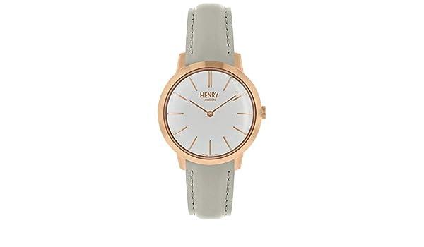 Henry London 5018479086079 - Reloj analógico de cuarzo para mujer ...