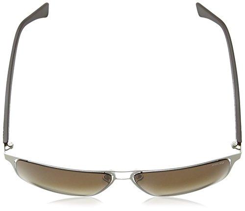 Grey Lunette Dark Lens Gradient Matt Brown Palladium Frame 2 Homme Police S8955 Offside soleil de Grande amp; 4CCwUq