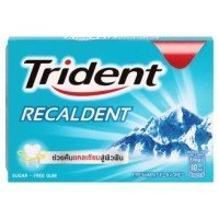 Peelu Usa Vitamin (Trident Recaldent Chewing Gum Freshmint Flavored Sugar Free Dental Health Net Wt 11.2 G(pack of 3))