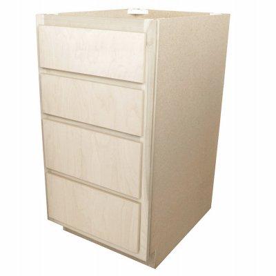 "KAPAL DB18-BH 18"" Birch Drawer Base Cabinet"