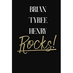 Brian Tyree Henry Rocks!: Brian Tyree Henry DIARY JOURNAL NOTEBOOK
