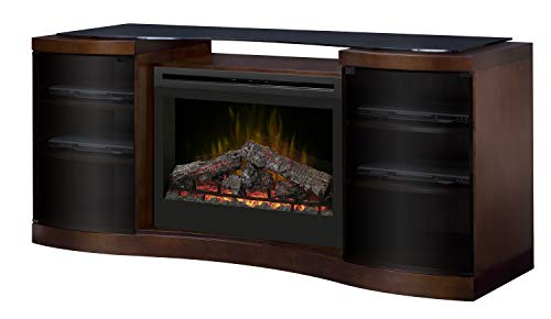 Cheap DIMPLEX Acton Media Console Electric Fireplace with Logs Black Friday & Cyber Monday 2019