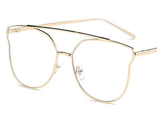 Huyizhi la para sol Guay Gafas la UV400 gafas libre de al decoración manera Gafas de las viajar de aire de la Golden de sol protección de unisex CACrq