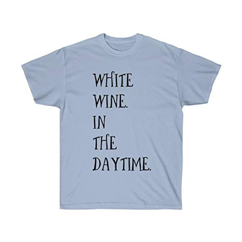 White Wine in The Day Time Cool Wine Tshirt ()