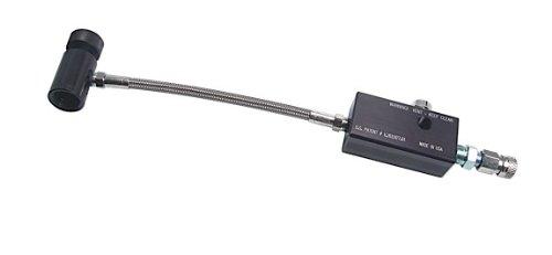 Benjamin FAH002 Dual Fuel Dual Fuel Fill Adaptor Stainless Steel Braided