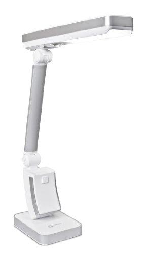 OttLite 31700R  13-watt HD SlimLine Task Lamp, White Finish