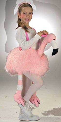 (FGFK Halloween Costumes by HCFS Ride-A-Flamingo Stuffed Child)