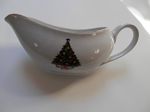 Christmas Collection China Gravy Boat