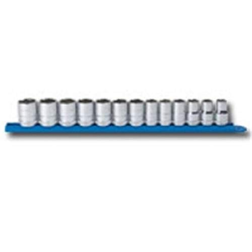 MAKEITHAPPEN 13Pc .5 Inch Drive 6Pt Metric Socket Set from MAKEITHAPPEN