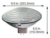 Incandescent Light Bulbs 500PAR64MFL 120V (Case of (500par64mfl Bulbs)