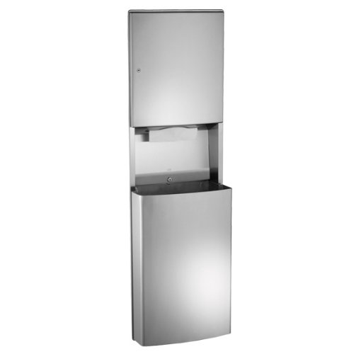 ASI 20469 | American Specialites Roval Paper Towel Dispenser & Waste Receptacle
