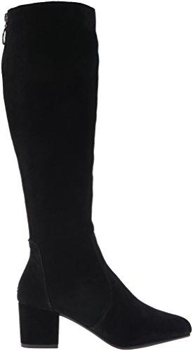 Steve Haydun Gamuza Punta Botas Negro Suede Moda de Talla Cerrada Gamuzablack Madden Mujeres rRORF