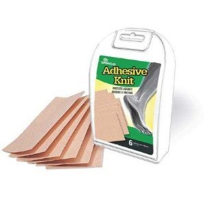 """Adhesive Knit Tape For Hand & Feet 6- 3"""" x 5"""" Sheets/Box"""