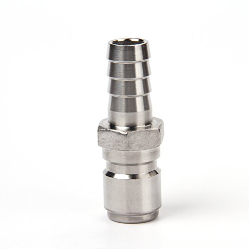 Brewing 1/2 Male Quick Disconnect 304 Stainless Steel 1/2 Barb
