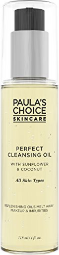 Paula's Choice Perfect Cleansing Oil | Jojoba, Sunflower & Coconut Oil | Fragrance Free Face Wash for Dry Skin | 4 - Perfect Cleansing Oil Face