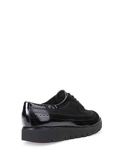 Geox D540BC 04338 Zapatos Casual Mujeres Negro 37