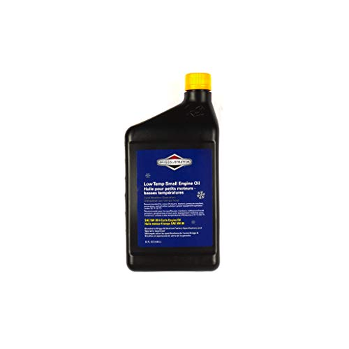 Briggs & Stratton 100030C SAE 5W-30 4-Cycle Snow Thrower Oil - 32 Oz.