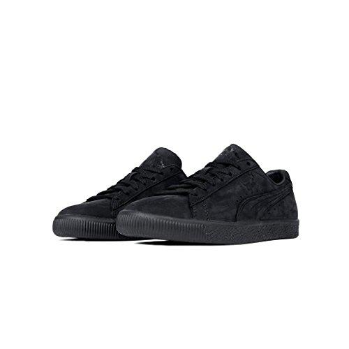 Puma Men's Clyde Fleur de Lis Ennoir Black 364495 01 (Size: 12)