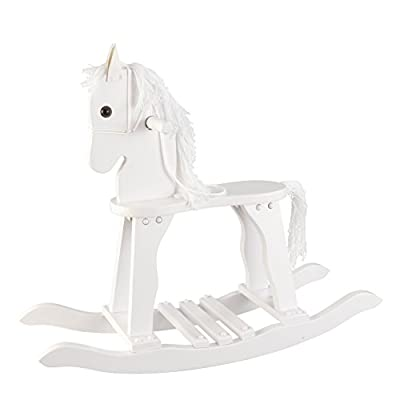 KidKraft Derby Rocking Horse - White