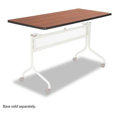 (Safco Impromptu Series Mobile Training Table Top, Rectangular, 60w x 24d, Cherry)