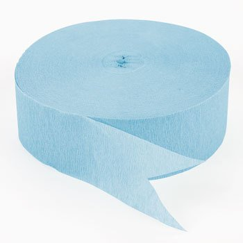 (Ice Blue Jumbo Streamers (500)