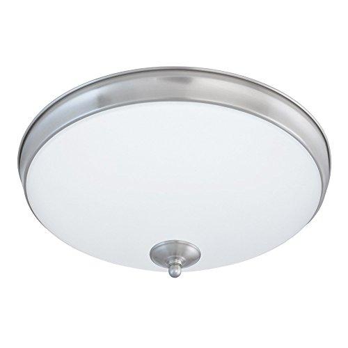Good Earth Lighting Legacy 11-Inch LED Flush Mount Light - Brushed Nickel ()