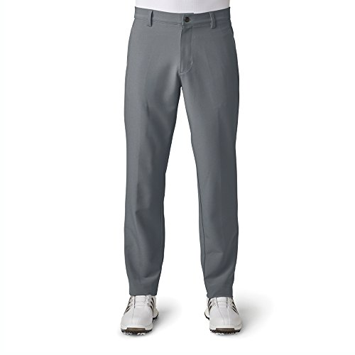 30 Golf (adidas Golf Men's Adi Ultimate 3 Stripe Pants, Vista Grey, Size 30/30)