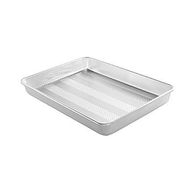 Nordic Ware 44770 Prism 13  X 18  High-Sided Sheet Cake Pan, Metallic