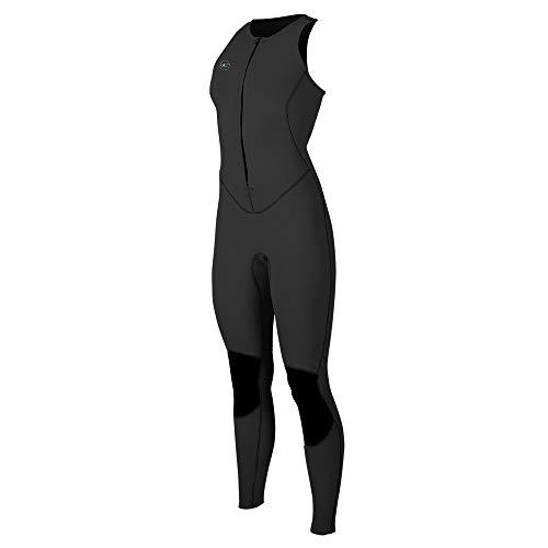 O'Neill Wetsuits Women's Reactor-2 1.5mm Sleeveless Full, Black/Black, Size 6