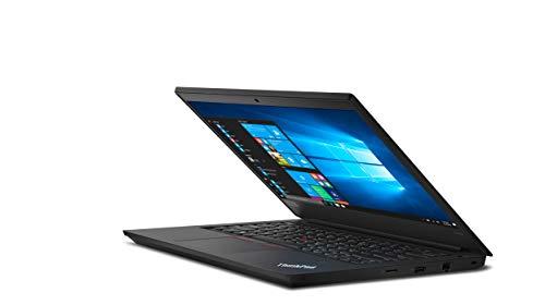 Lenovo ThinkPad E490 Intel Core i5 8th Gen 14-inch HD Thin and Light Laptop (8GB RAM/ 1TB HDD + 128GB SSD/ Windows 10 Home/ Microsoft Office Home & Student 2019/ Black/ 1.75 kg), 20N8S0NE00