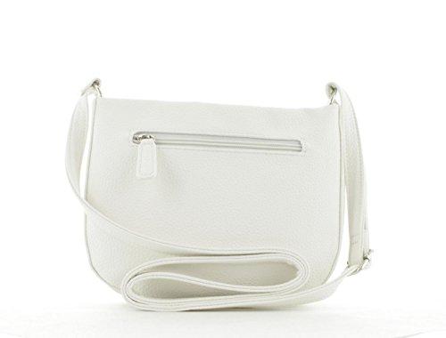 Weber Shz Shoulderbag Ii Borse Different Talk Gerry Spalla Donna white A Bianco fX6dSwqq