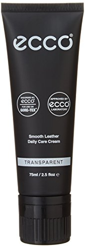 (ECCO Smooth Leather Care Cream Shoe Polish, Transparent, One Size Regular US)