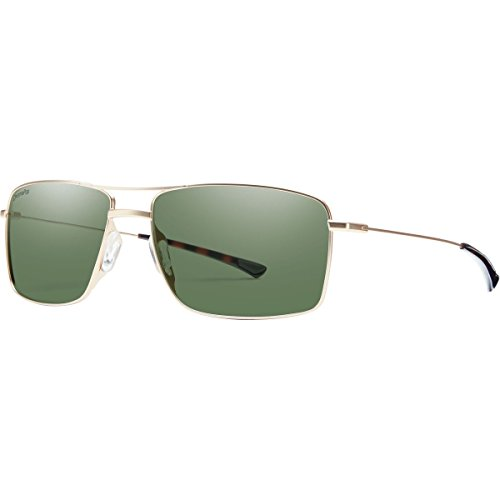 Smith Optics TURNER Sunglass, Carbonic Polarized Gray Green Lens, Matte - Size Shop By Sunglasses