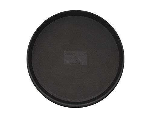 Tusco Products TR16BK Round Saucer, 16-Inch Diameter, Black by Tusco Products