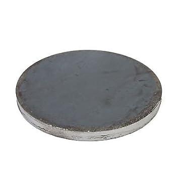 Ankerplatte 10 St/ück! Platte Stahl Ronde Qualit/ätsstahl S235 Oberfl/äche blank Flansch ST 37 Durchmesser 60 x 4 mm Rund