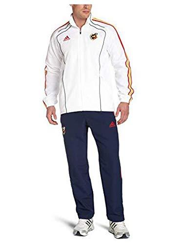 Chandal Adidas FEF PRES Suit Blanco/Marino 180 Blanco: Amazon.es ...