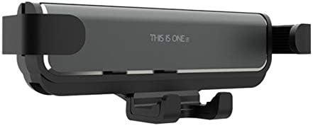 TOOGOO 普遍的な自動車換気口の取り付けホルダー 重力車載電話ホルダー 用 金属 重力携帯電話ホルダー