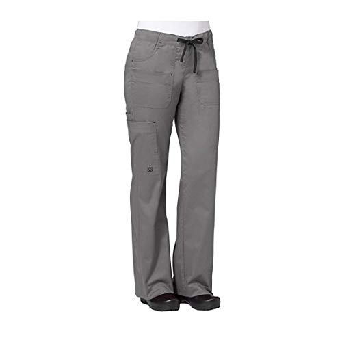 Maevn Women's Utility Cargo Pants(Pewter, Large)