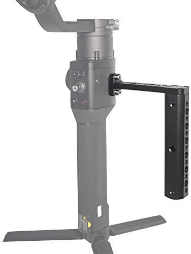 Haofy DJI Ronin-Sスタビライザージンバル用スタビライザーエクステンションロッドハンドルグリッドホルダー