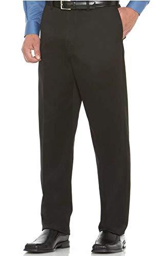 - Savane Flat Front Casual Pants Ultimate Performance 52 X 30 Black #511A
