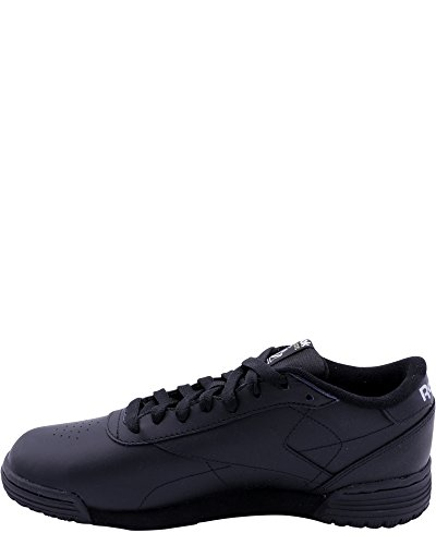 latest cheap online free shipping supply Reebok Men's Ex-O-Fit Lo Clean Logo Sneaker Black/Silver pay with paypal online cheap price outlet sale for cheap online WHL32lD