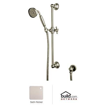 Rohl 1301STN Shower Merchandise Pak Country Handshower Set, Satin Nickel