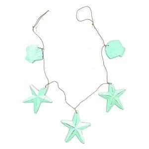 31CFw%2B7w3VL._SS300_ Beachy Starfish and Seashell Garlands