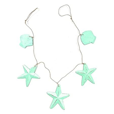 31CFw%2B7w3VL._SS450_ Beachy Starfish and Seashell Garlands