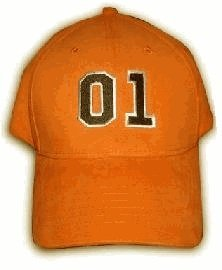 The Dukes of Hazzard 01 Orange Adjustable Baseball Cap Hat (Adult, - Flag Cap Confederate Ball
