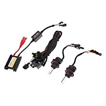 NingB 12V 35W H13-3 High/Low Beam HID Xenon Lamp Conversion Kit Set (AC 12V Slim Ballast)